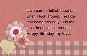 Sweet Happy Birthday Wishes for Boyfriend | SayingImages.com