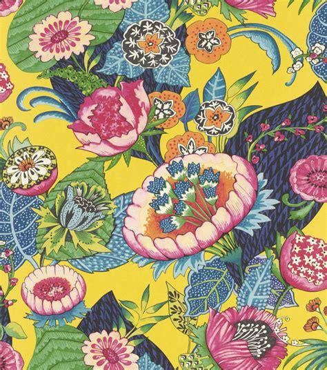 Rasch Tapete Blumen by Vliestapete Rasch Blumen Pop Gelb Bunt 803624