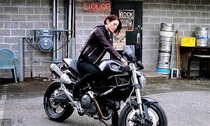 Ducati Alex Leigh Supergirl Biker Motorcycle Chyler