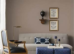 Couleur De Peinture Pour Salon : peinture couleur taupe comment faire le bon choix ~ Melissatoandfro.com Idées de Décoration