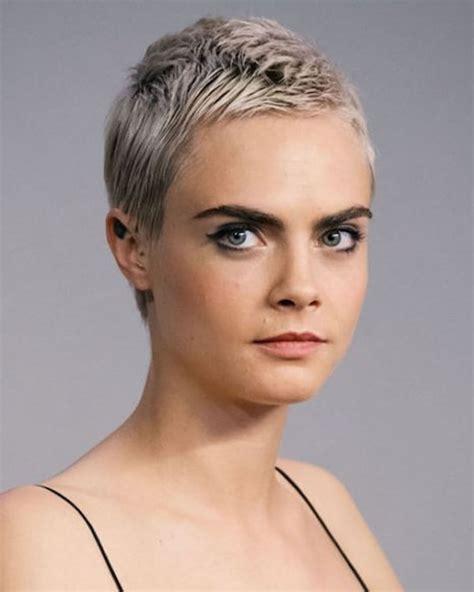 Girl With Very Short Hair  Best Short Hair Styles