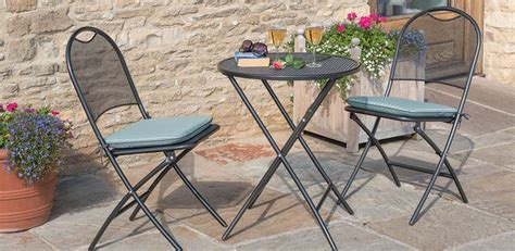 great metal bistro table and 2 chairs garden patio outdoor