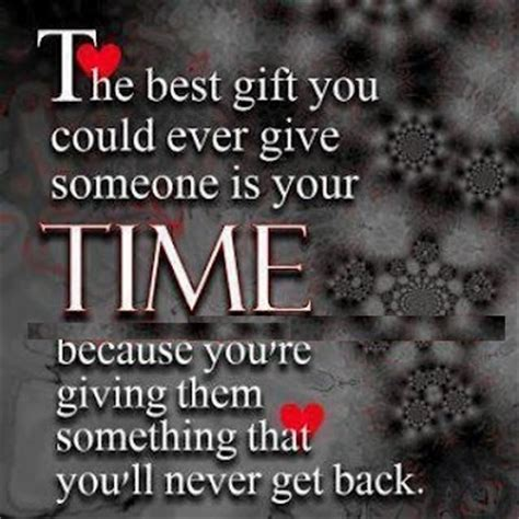 The Gift Of Time Quotes