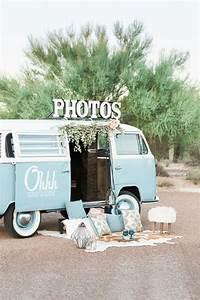 Decor Photobooth Mariage : vw van photo booth wedding party ideas 100 layer cake ~ Melissatoandfro.com Idées de Décoration