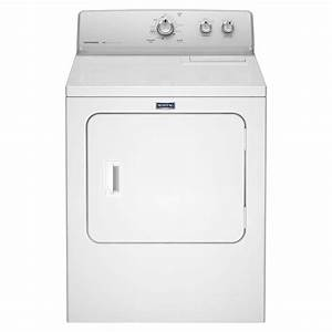 Maytag 7 0 Cu  Ft  240 Volt White Electric Vented Dryer