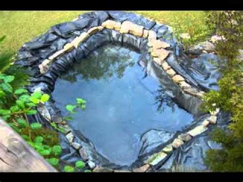 small garden pond decorations ideas youtube