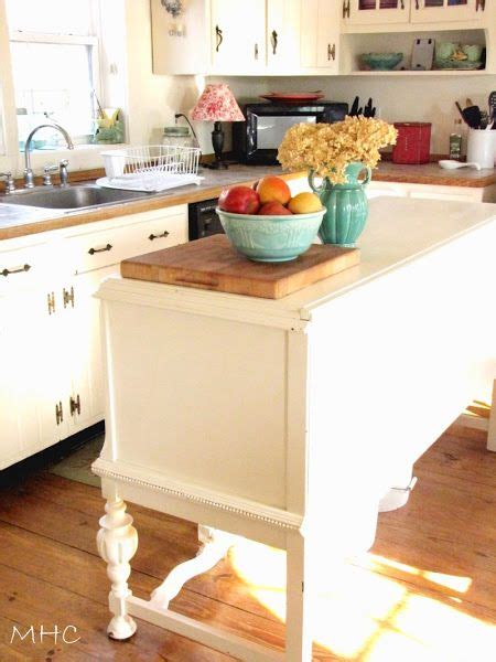 Kitchen Side Buffet by Turning A Buffet Sideboard Into A Kitchen Island I A