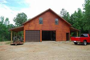 pole garage with living quarters 19 acres in lamar With barn style garage with living quarters