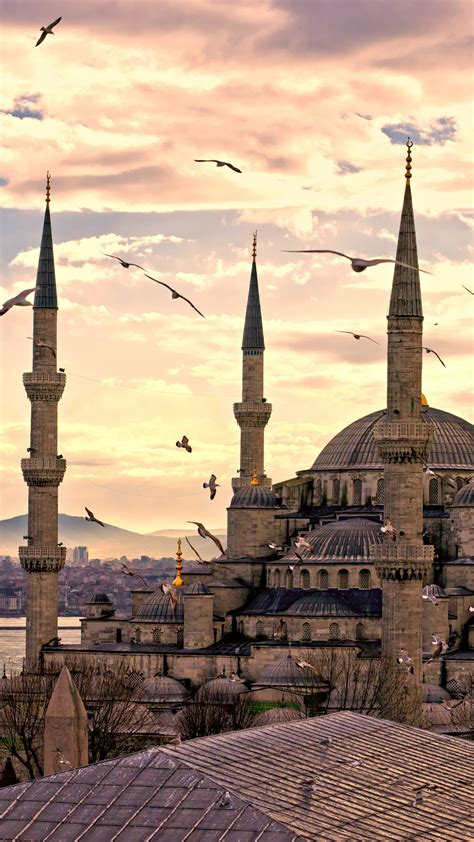 wallpaper sultan ahmed mosque istanbul turkey travel