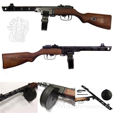 denix russische mp ppsh  maschinenpistole sowjetunion