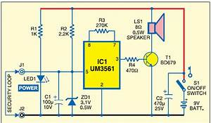 Build A Blocking Circuit With Alarm For Bicycle