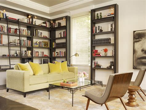 Living Room Library by Living Room Library Transitional Living Room San