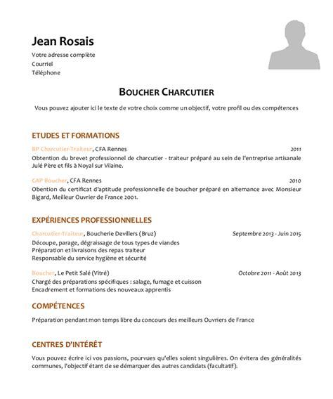 contrat d apprentissage cuisine modele cv apprentissage contrat de travail 2018