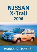 nissan  trail  workshop repair manuals