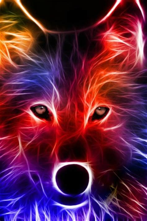 Cool Animal Wallpaper Light Wolf - light effect wolf hd wallpapers