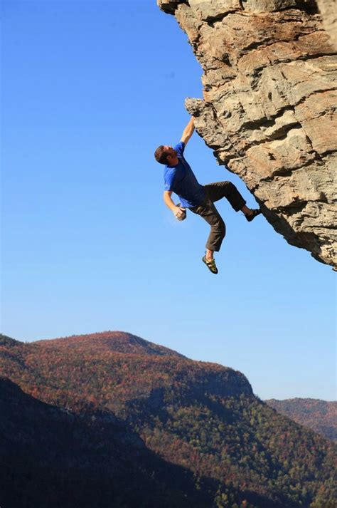 north table mountain climbing bouldering rock climbing boone nc high country the high