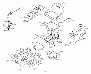 Dixon Ztr 3304  1999  Parts Diagram For Body