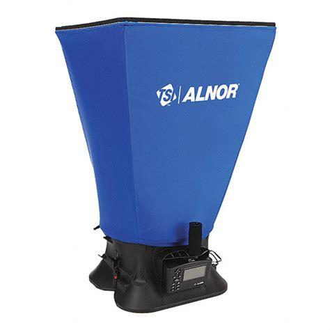 tsi alnor air flow capture hood   reading accuracy