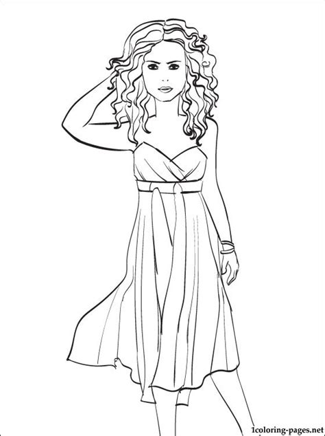 shakira penciling  color coloring pages