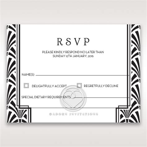 wedding place card table gatsby rsvp wedding stationery uk cards