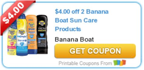 Banana Boat Printable Coupon by Printable Coupons Archives Page 33 Of 105 My Coupon Expert