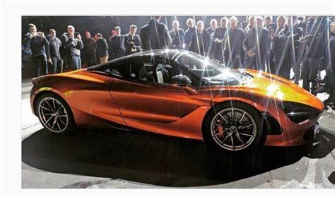 Mclaren 720s Leaks On Instagram Ahead Of Geneva Motor Show
