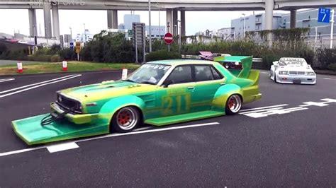 japanese race cars video japan s weird modified cars are the weirdest