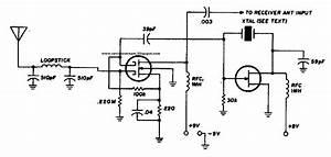 Simple Vlf Converter Circuit Diagram