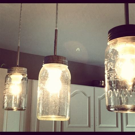 diy jar light fixture diy