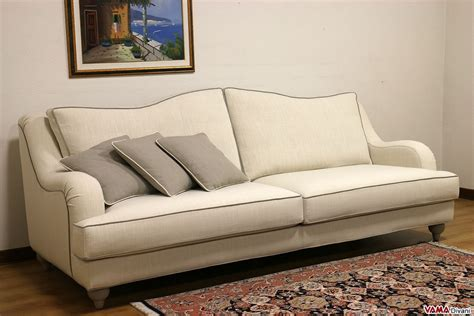 8 Reclining Sofa Removable Back, Contemporary Half Round