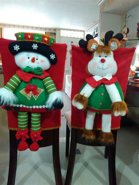 forros sillas comedor navideno navidad pinterest