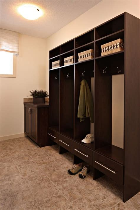 storage organization mud rooms  lockers  pinterest