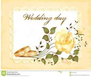 message fã licitation mariage carte de mariage photo stock image 16617400