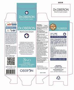 dr oberon moms care cream oberon cosmetic co ltd With fda cosmetic labeling requirements