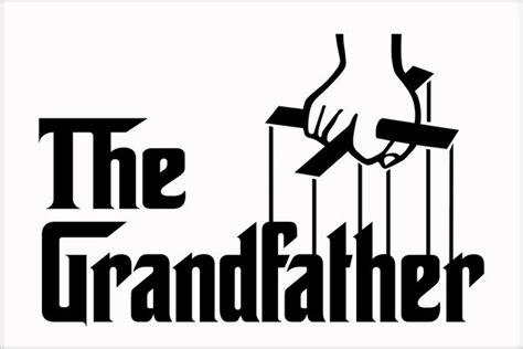 The Grandfather Logo Father Day Poster Teeshirtpalace