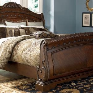 Raymour And Flanigan King Size Headboards by Shore King Sleigh Bed Furniture Bedroom Furniture