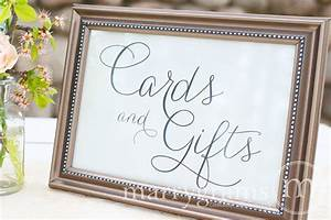 cards and gifts table sign wedding table reception by With wedding table sign ideas
