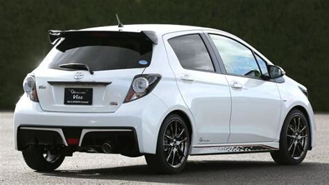 Toyota Vitz Rs G Sports Concept Introduced In Tokyo
