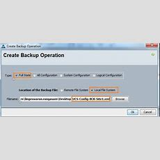 Cisco Ucs  Configuring Ntp And Configuration Backup