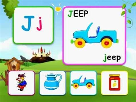i letter words alphabet reading for with words j 31301