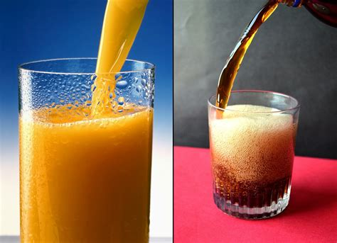shocking fruit juices   unhealthy  aerated drinks