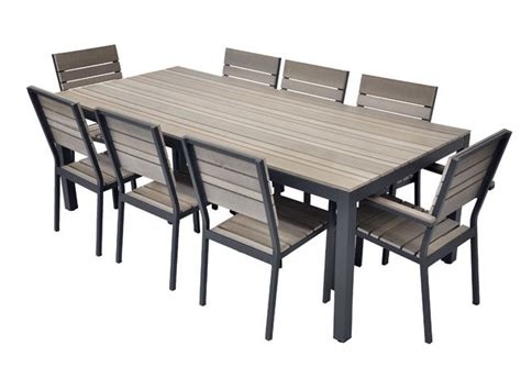 table et chaises de jardin leroy merlin table en bois composite residence mobilier de