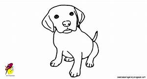 Cute Dog Drawing For Kids | Wallpapers Gallery