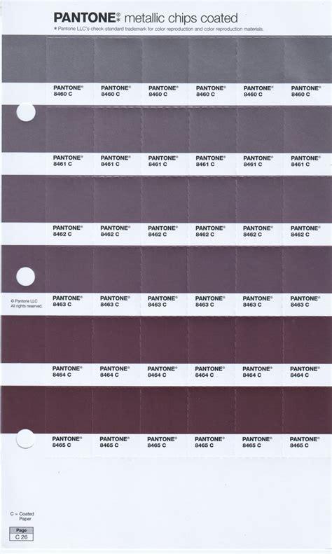 pantone pms metallic pages