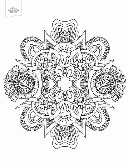 Coloring Pages Adults Adult Geometric Abstract Books