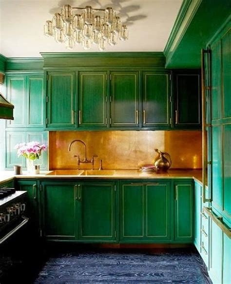 green and kitchen 15 cheery green kitchen design ideas rilane 7856