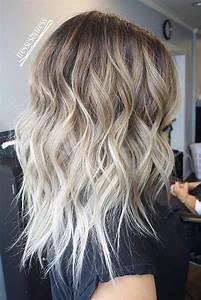 Ombré Hair Blond Foncé : ombr hair blond polaire sur chatain ~ Nature-et-papiers.com Idées de Décoration