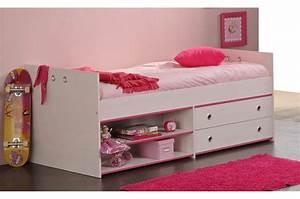 Lit 1 Place Avec Rangement : lit mi hauteur avec rangement snoopy cbc meubles ~ Teatrodelosmanantiales.com Idées de Décoration