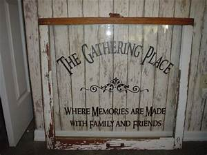 family wall decal the gathering place vinyl lettering wall With vinyl lettering for crafts