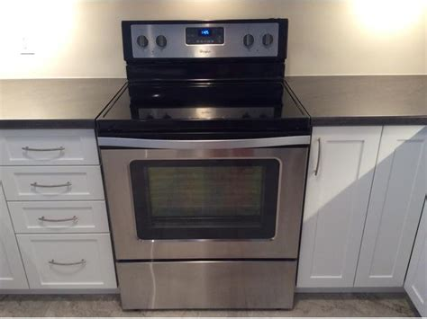 Whirlpool Electric Range With Easywipe Ceramic Glass West Carleton, Gatineau Stove Top Cleaning Stone How To Clean A Wood Pellet Stoves Richmond Dual Fuel Range Cooker Enamel Log Burning Reading Coal Parts Induction Vs Gas Philippines Cooking Steak On Griddle Do You Put Out